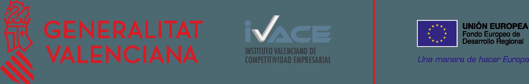 Logo fondos FEDER - IVACE