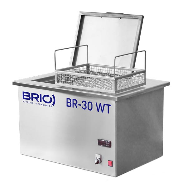 BR-30 WT con tapa abierta y cesta