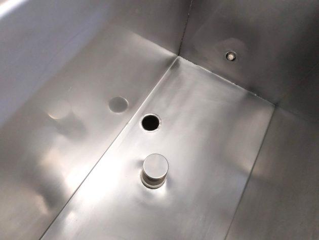 BR-150 PRO-detalle-interior-cuba-auxiliar
