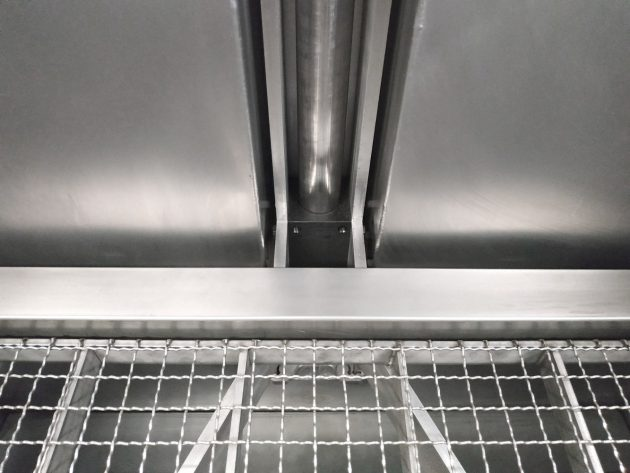 BR-150 PRO-detalle-interior-elevador-parrilla